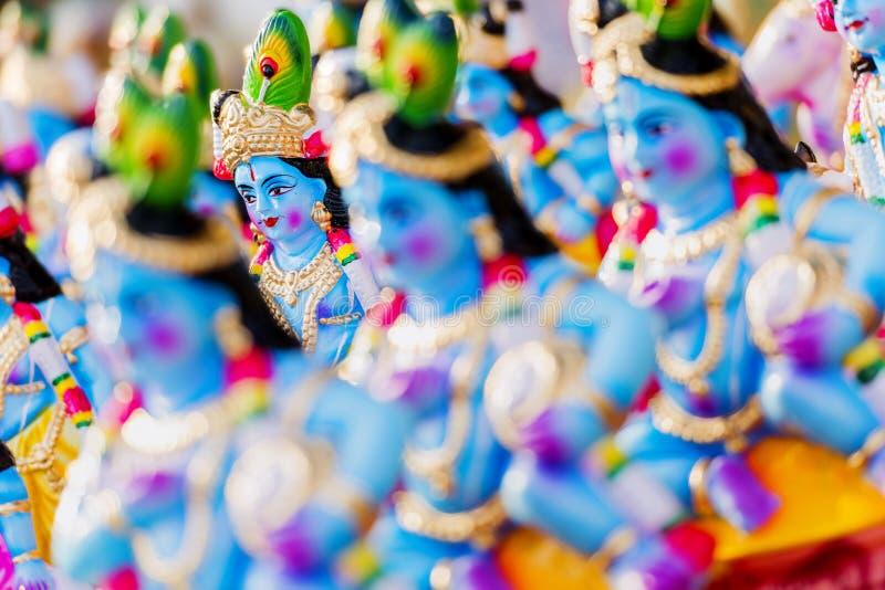 Dios hindú Krishna imagen de archivo libre de regalías