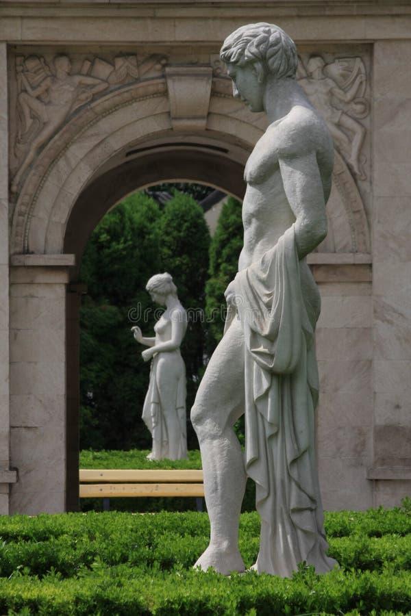 Dios y diosa imagen de archivo