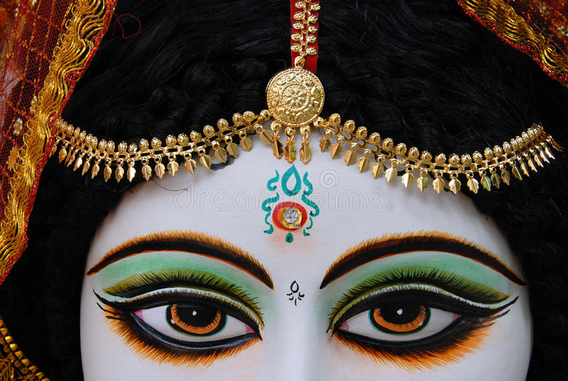 Dios y diosa hindúes foto de archivo