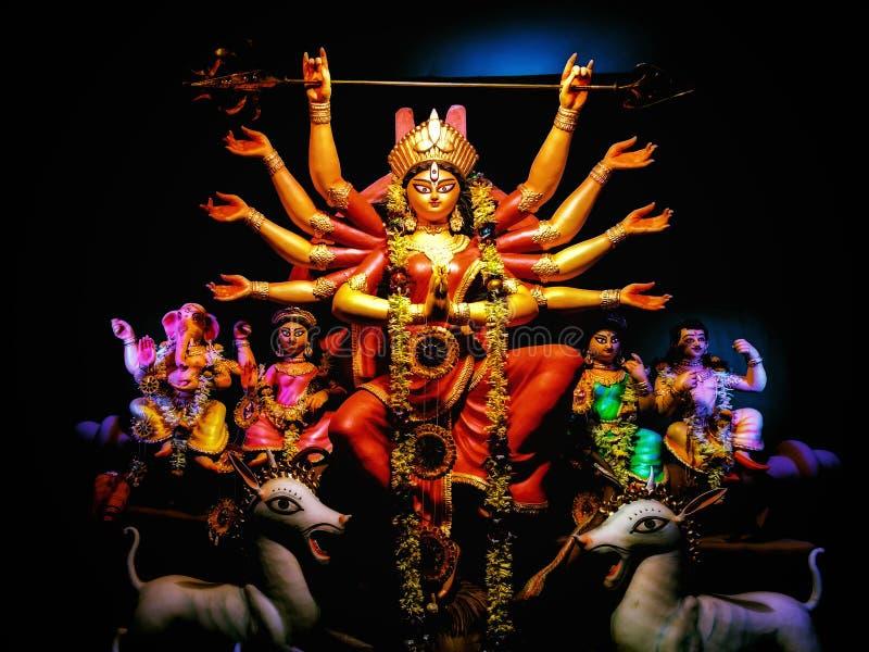Diosa de Durga fotos de archivo libres de regalías
