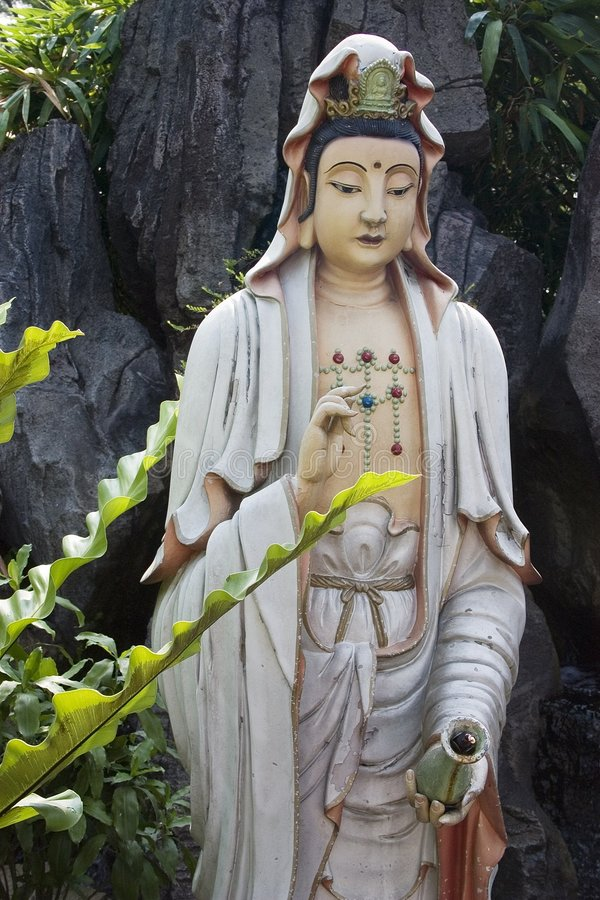 Diosa de la misericordia foto de archivo