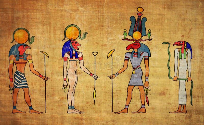 Diosa egipcia de la American National Standard de dioses libre illustration
