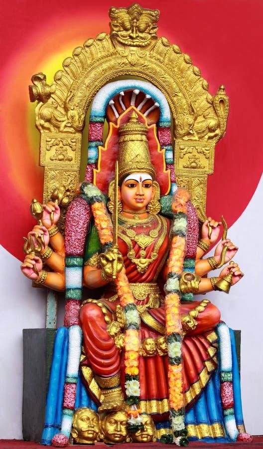Diosa hindú Amman fotografía de archivo libre de regalías