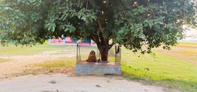 Diosa india del pueblo imagen de archivo