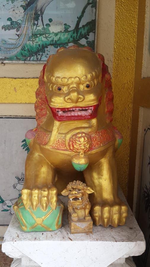 Dioses del león fotos de archivo libres de regalías