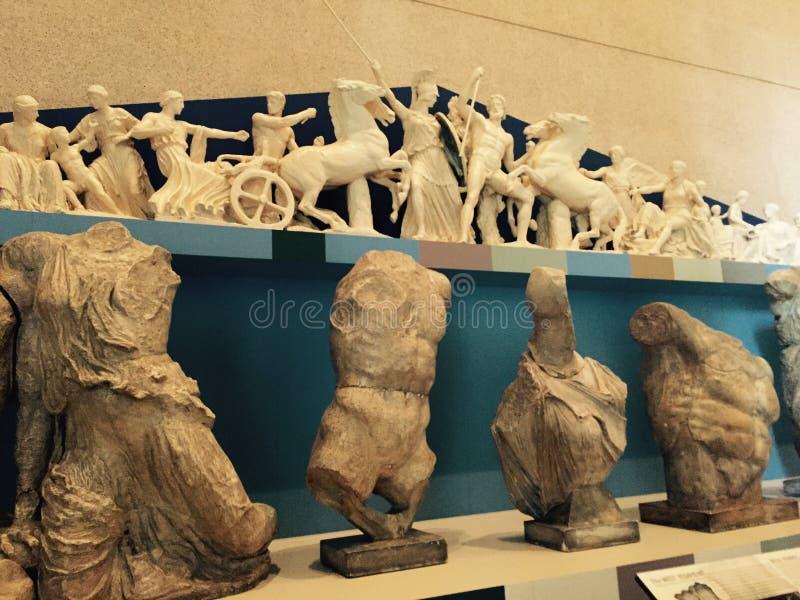 Dioses griegos foto de archivo