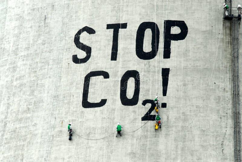Dioxid des Kohlenstoffes stockfotografie
