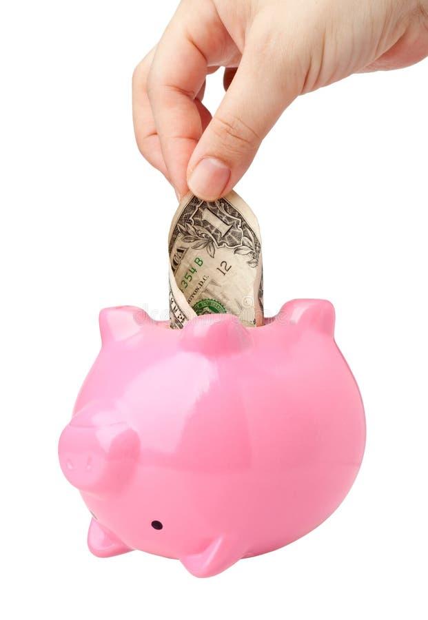 Download Dip into savings stock photo. Image of broke, penniless - 24376394