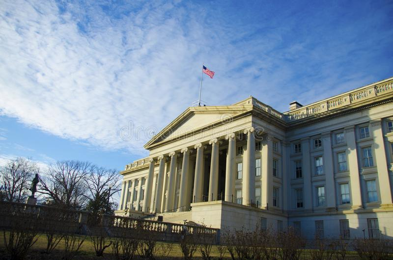 Dipartimento del tesoro degli Stati Uniti fotografie stock