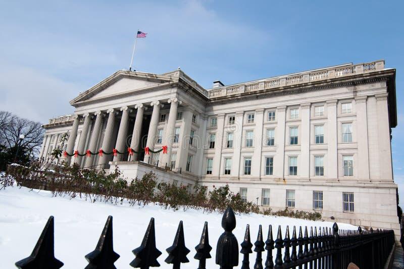 Dipartimento del Tesoro degli Stati Uniti immagine stock