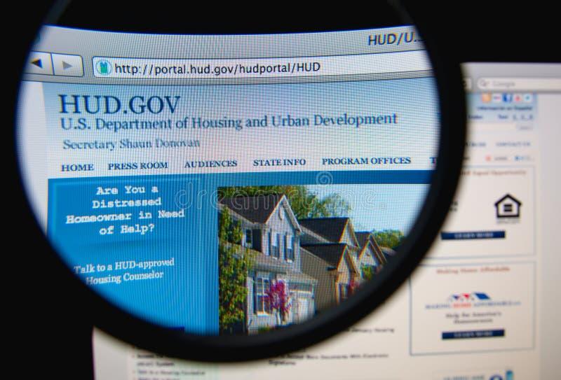 Dipartimento di alloggio e di sviluppo urbano immagine stock libera da diritti