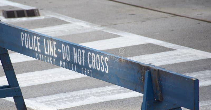Dipartimento di polizia di Chicago fotografie stock libere da diritti