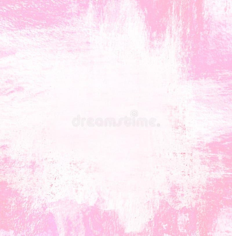 Dipinga il colore rosa per il confine o il fondo della struttura fotografia stock libera da diritti
