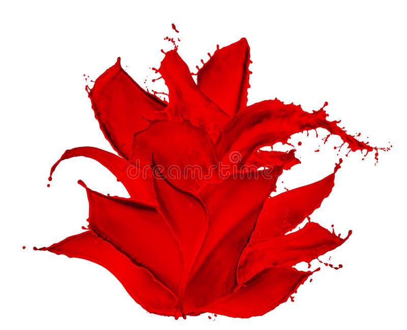 Download Dipinga Il Fiore Della Spruzzata Fotografia Stock - Immagine di insieme, inchiostro: 30831260