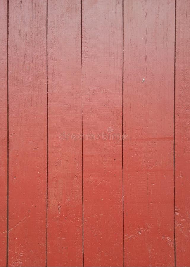 Dipinga il rosso di legno fotografie stock