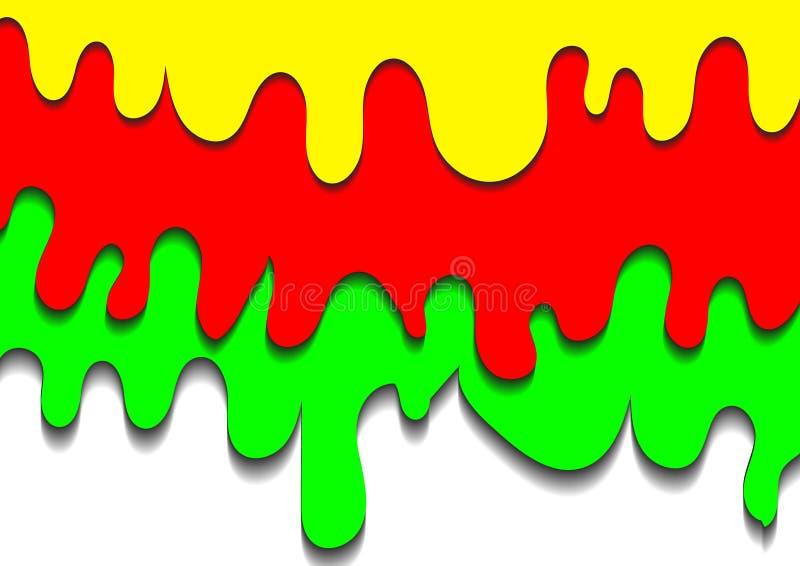 Download Dipinga La Sgocciolatura E L'ombra Su Fondo Bianco Illustrazione Vettoriale - Illustrazione di concetto, arte: 56877080
