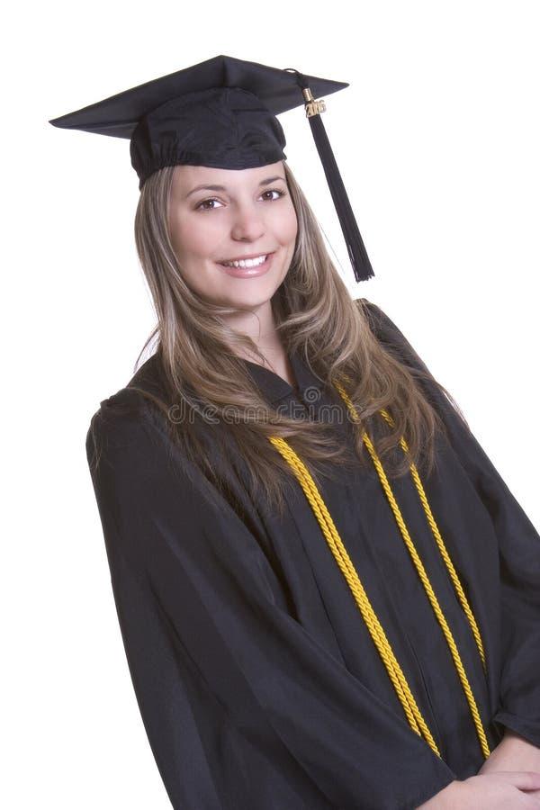 Diplômé d'isolement images stock