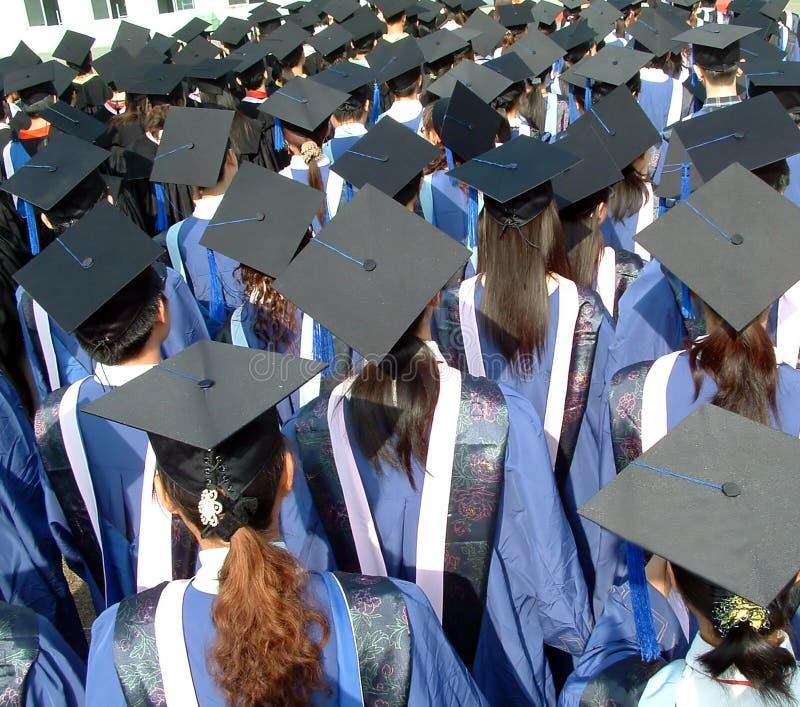 Diplômé d'université photo stock