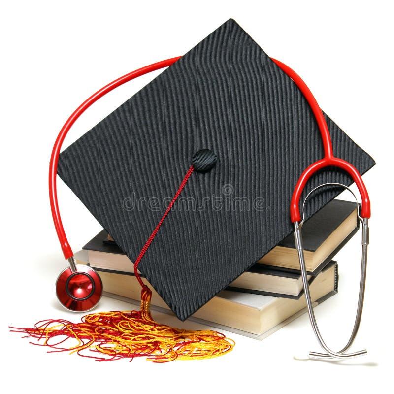 Diplômé de soins de santé photo stock