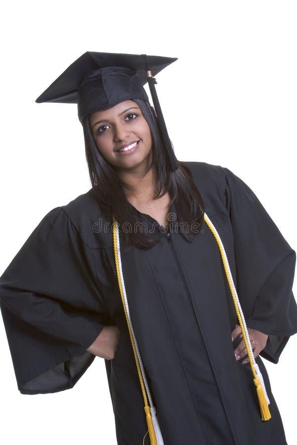 Diplômé de sourire photo libre de droits