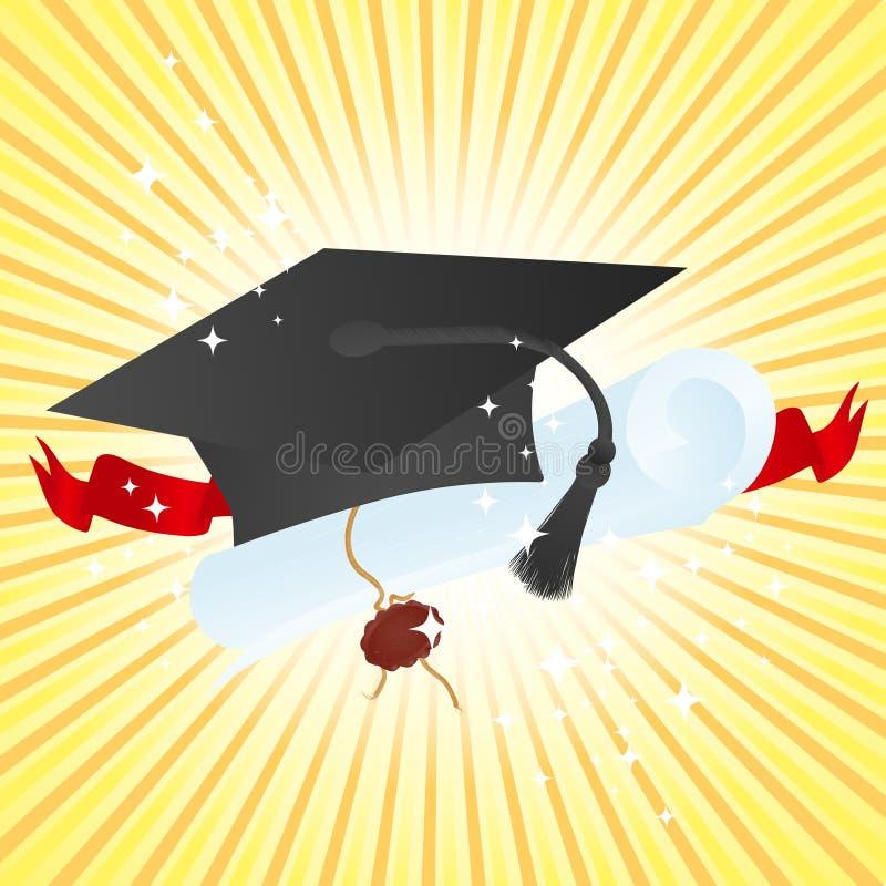 Diplômé de vacances illustration de vecteur