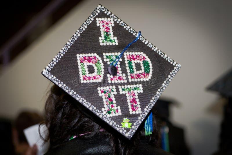 Diplômé fier images stock