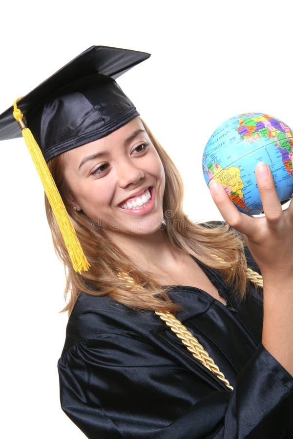Diplômée de femme photos libres de droits