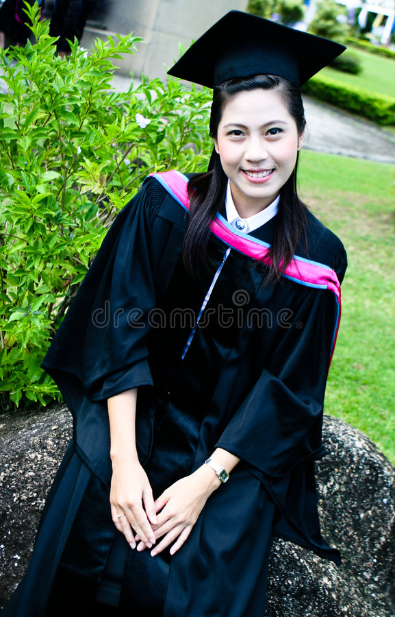 Diplômés d'université photos stock