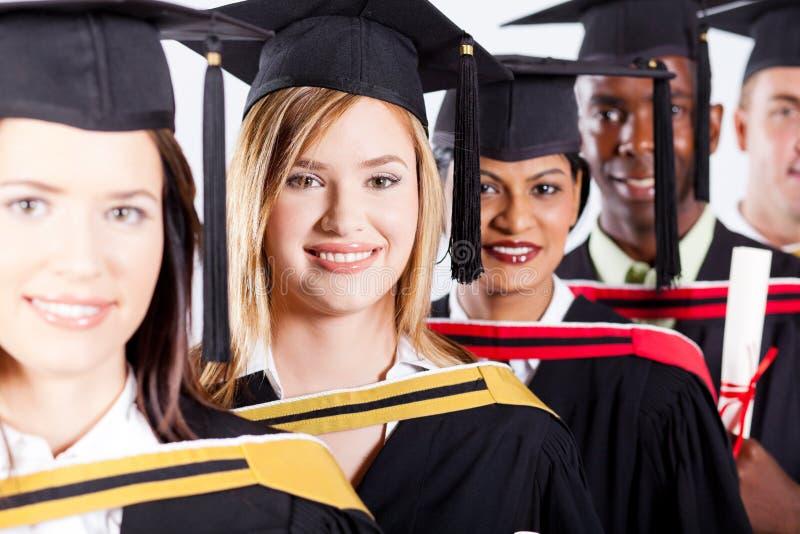 Diplômés internationaux photos libres de droits