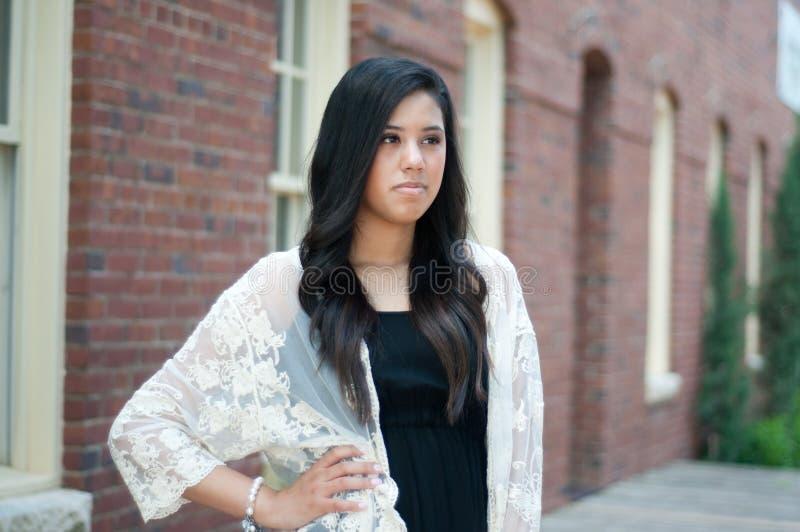 Diplômé triste de lycée images libres de droits