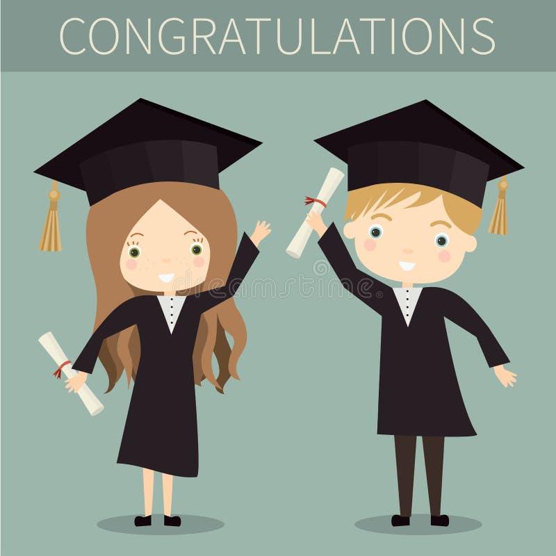 diplômés photo stock