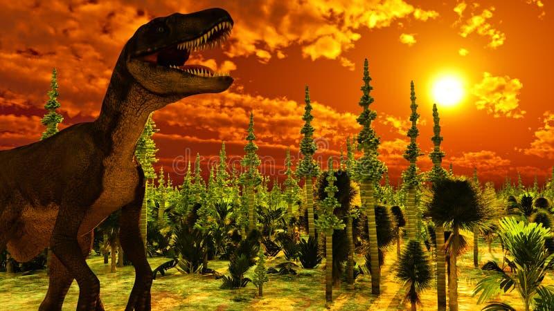 Diplodoc dinosaur ilustracja wektor