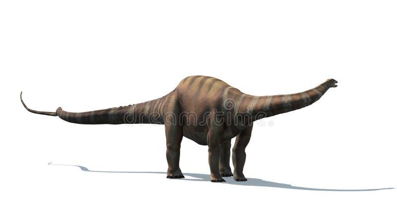 Diplodocus ilustração do vetor