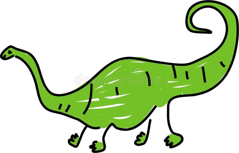 Diplodocus stock abbildung