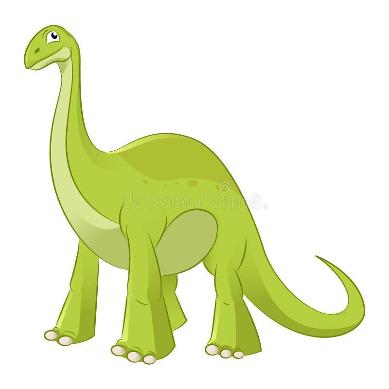 Diplodocus ilustração stock
