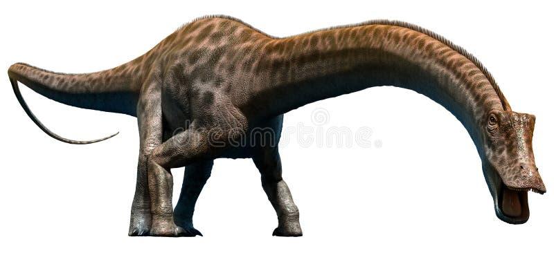 Diplodocus royalty illustrazione gratis