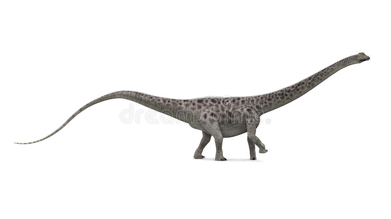 Diplodocus de dinosaur illustration stock