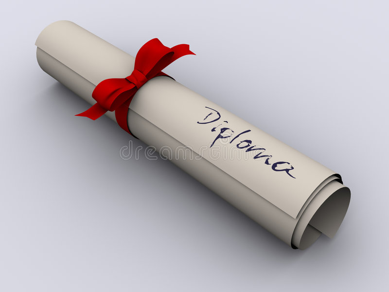 Download Diploma Stock Photography - Image: 3492572