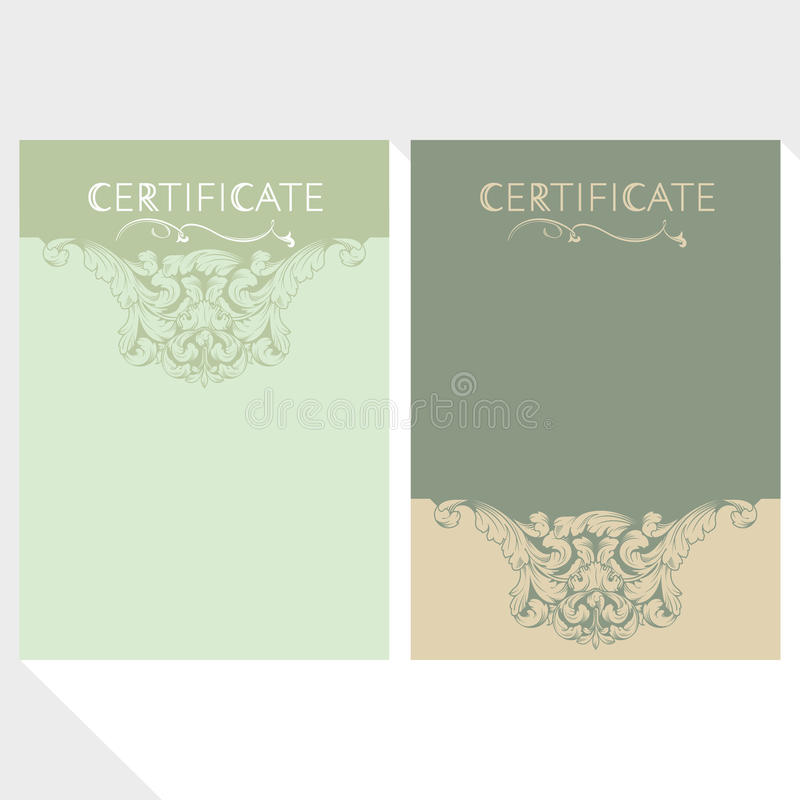 Download Diploma And Certificate Design Template Stock Image - Image of reward, certificate: 70197501