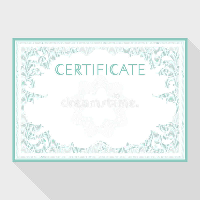 Download Diploma And Certificate Design Template Stock Image - Image of document, attestation: 70197521