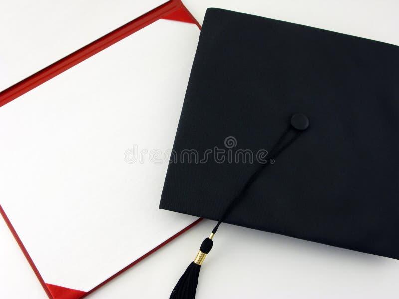Diploma en blanco imagen de archivo