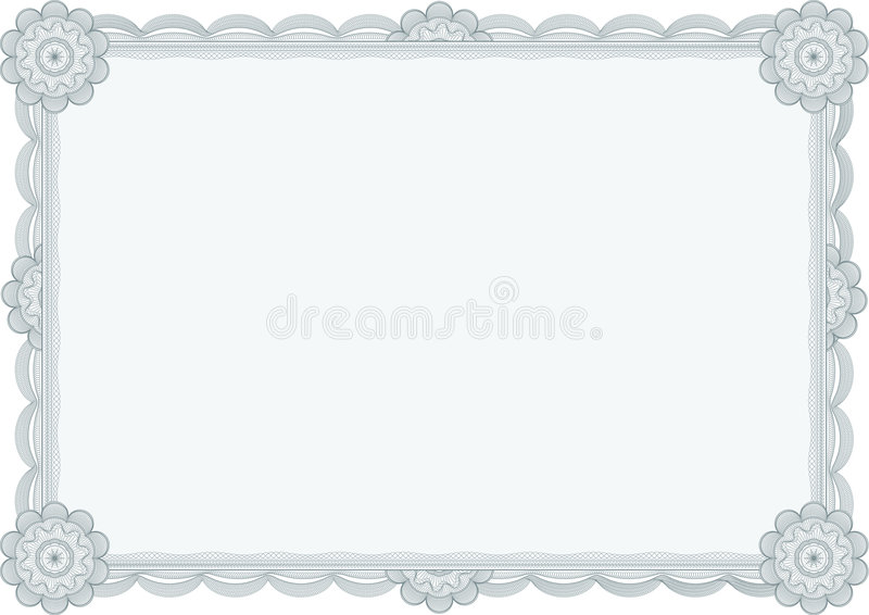 Diploma o certificato/vettore illustrazione vettoriale