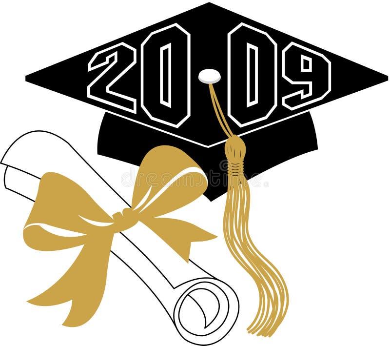 Diploma y casquillo/EPS de la graduación libre illustration