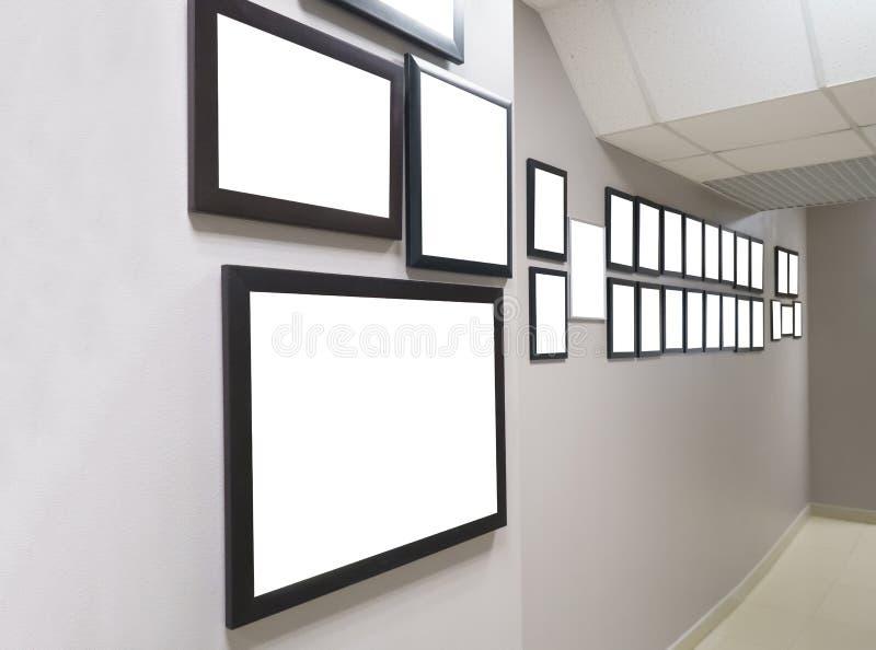 Diplomas y premios en el marco imagen de archivo libre de regalías