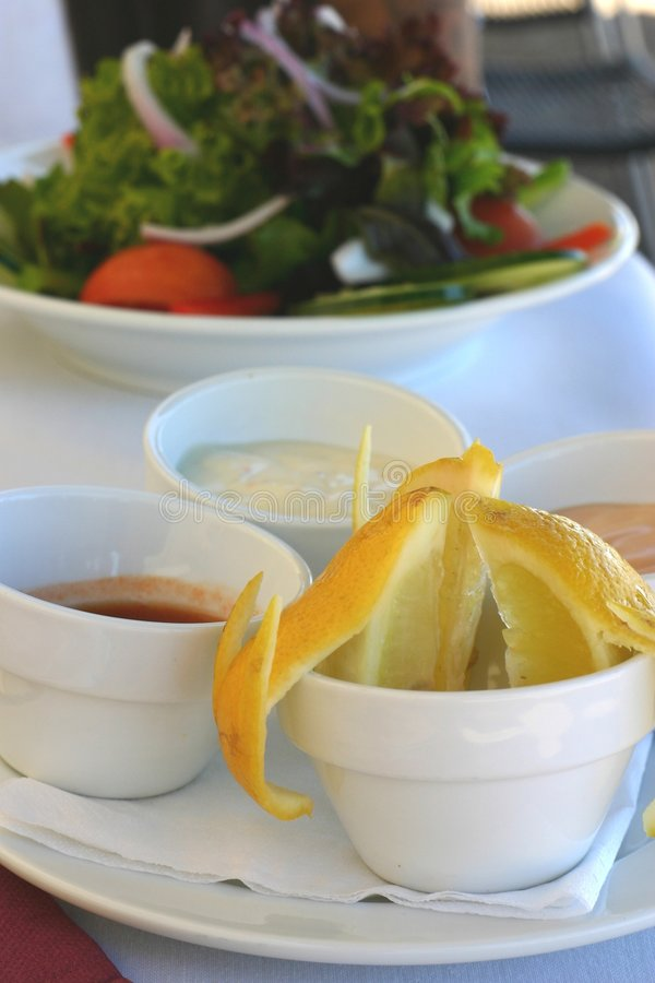 Dipping Sauces Royalty Free Stock Photo