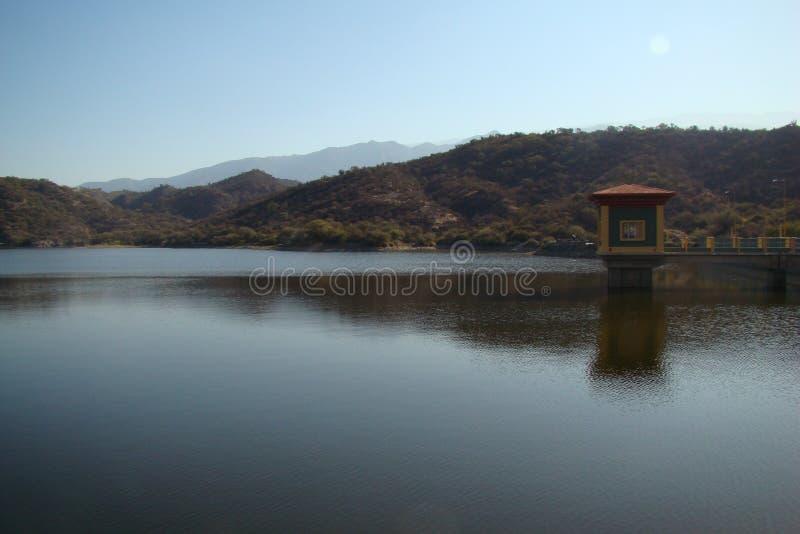 Dique El Jumeal, Catamarca, Argentyna - zdjęcie royalty free