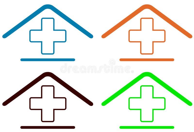 Diríjase el símbolo médico libre illustration