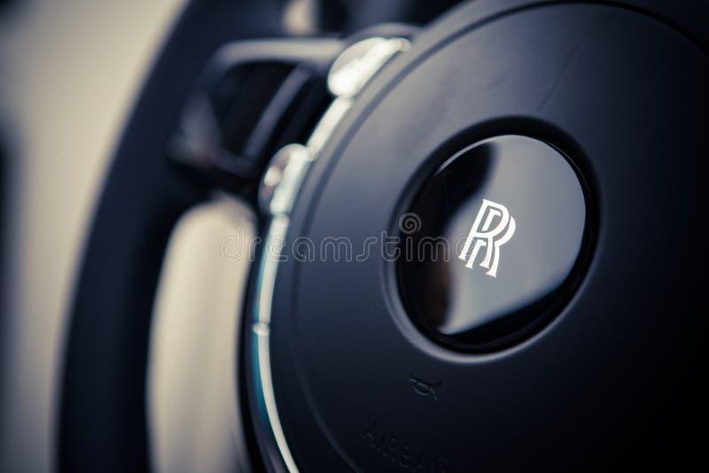 Direção de Rolls Royce imagem de stock