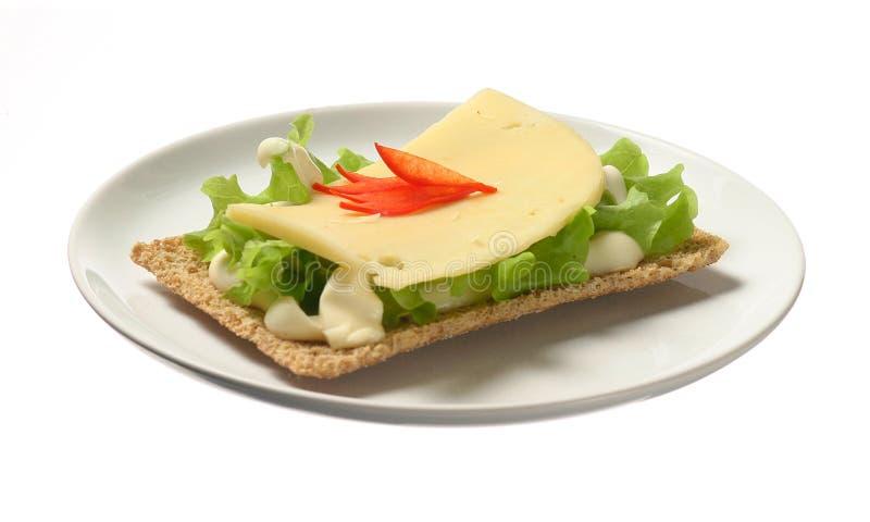 Dire avec du fromage images stock