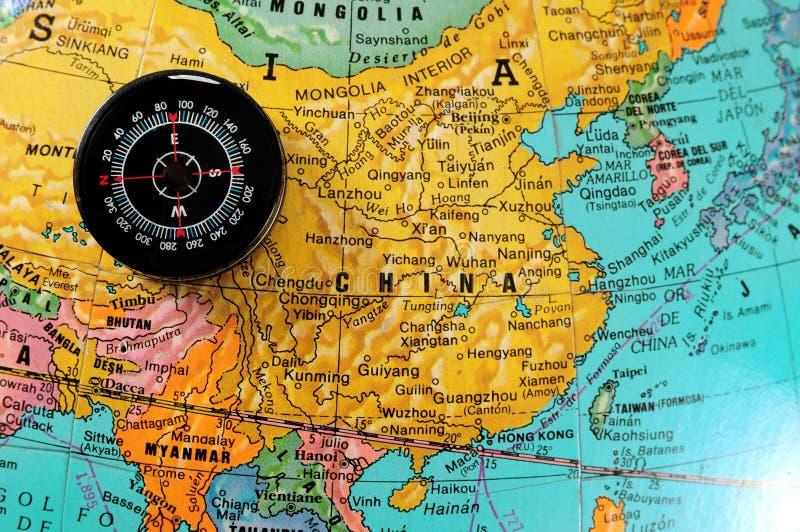 Dirección a China. fotos de archivo libres de regalías
